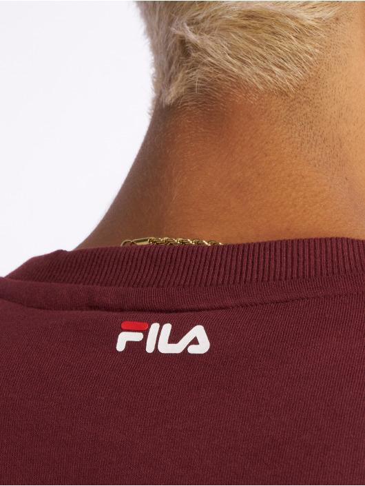 fila herren pullover urban line classic logo in rot 509526. Black Bedroom Furniture Sets. Home Design Ideas