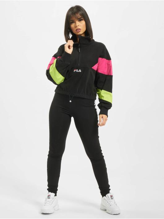 FILA Pullover Urban Line Rafiya Half Zip Fleece schwarz