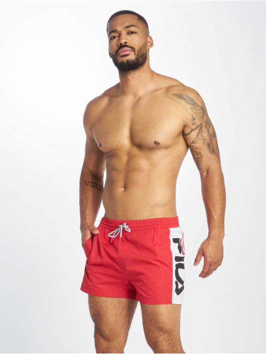 Fila Urban Line Safi Swim Shorts True RedBright White