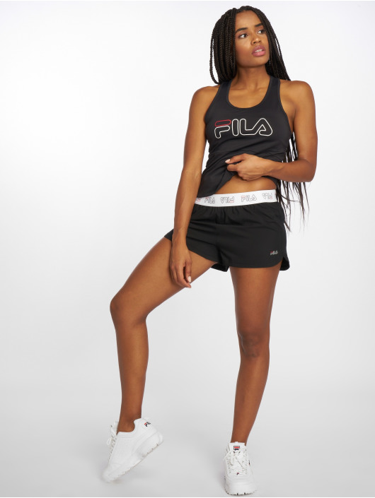 FILA Shorts Power Line Leane svart