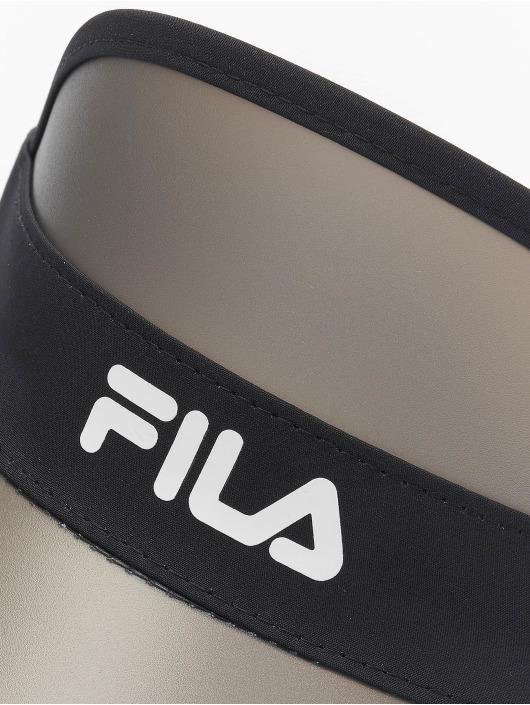 FILA Snapback Cap Plastic Visor black