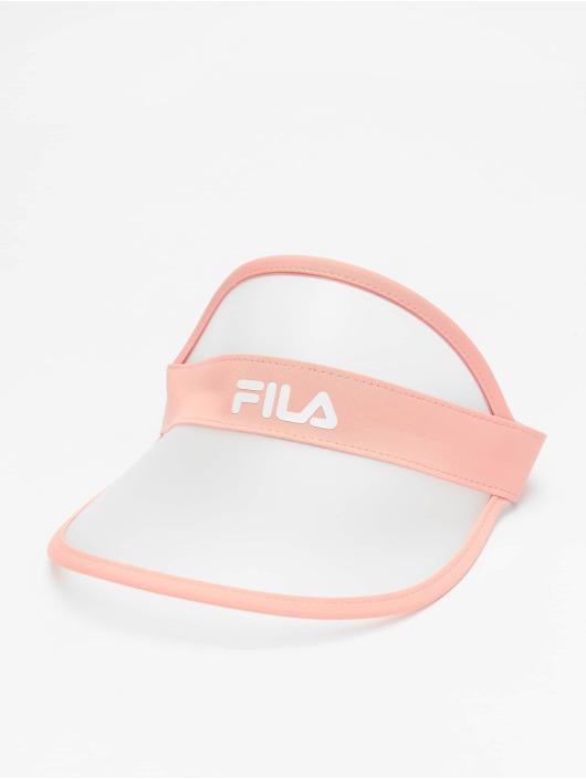FILA Snapback Cap Plastic Visor rosa