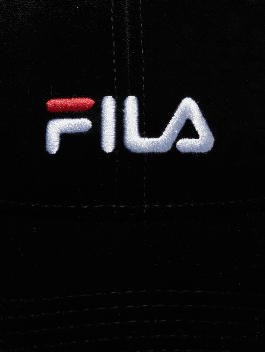 FILA snapback cap Urban Line Panel Velvet Strap zwart