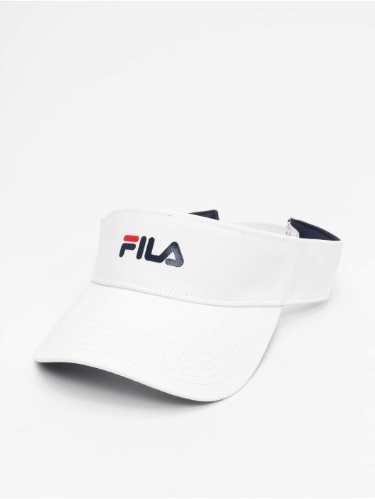 FILA Snapback Caps Line Visor bialy