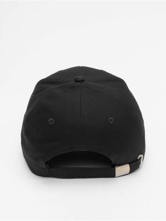 FILA Snapback Caps Line 6 Panel czarny