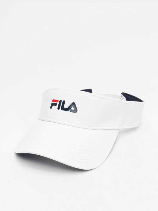 FILA Snapback Caps Line Visor hvit