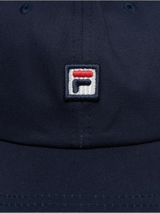 FILA Snapback Caps Dad modrý