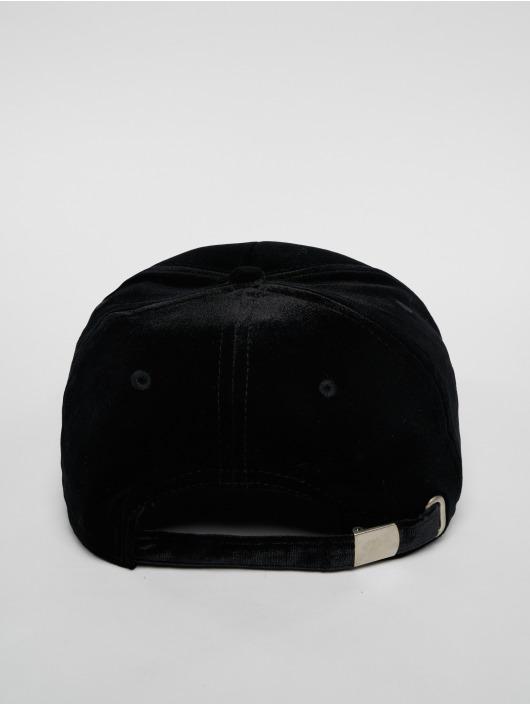 FILA Snapback Caps Urban Line Panel Velvet Strap musta
