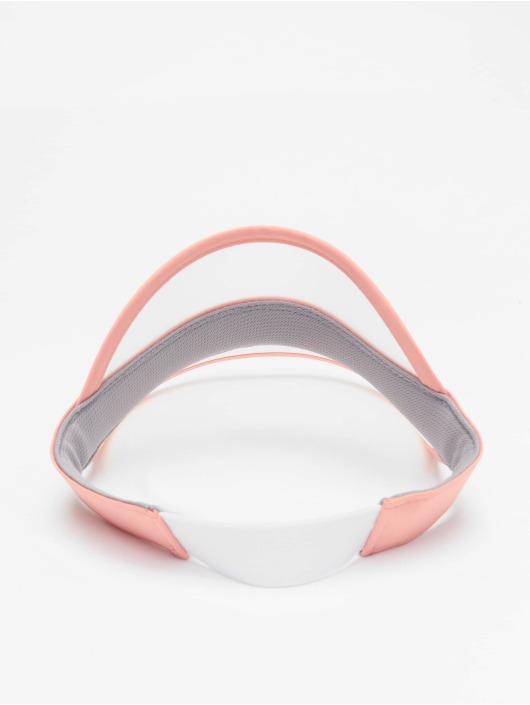 FILA Snapback Caps Plastic Visor rózowy
