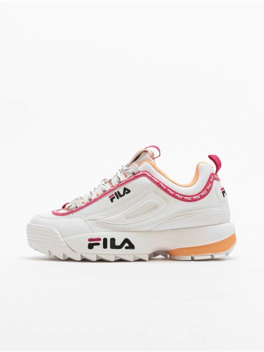 FILA Sneaker Heritage Disruptor Logo Low bianco