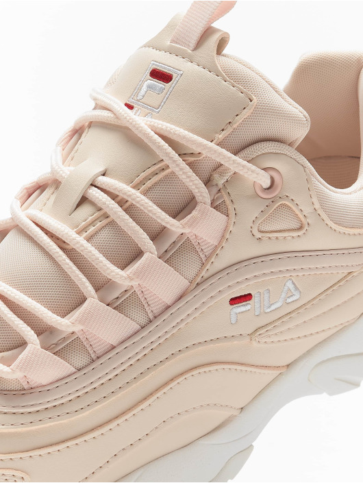 FILA Sneaker Heritage Ray Low rosa