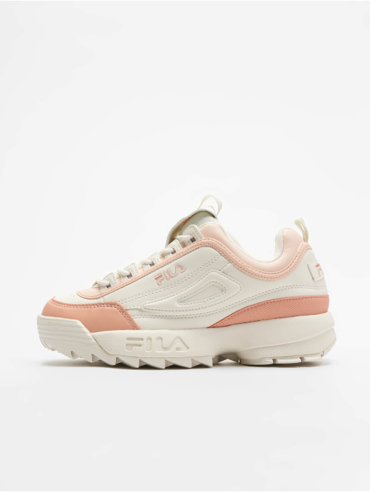 Fila Heritage Disruptor CB Low Sneakers Marshmallow/Salmon