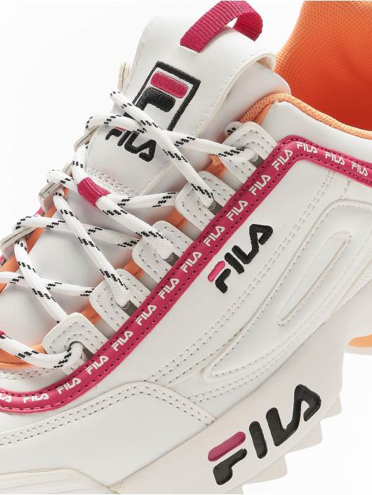 FILA Sneaker Heritage Disruptor Logo Low weiß