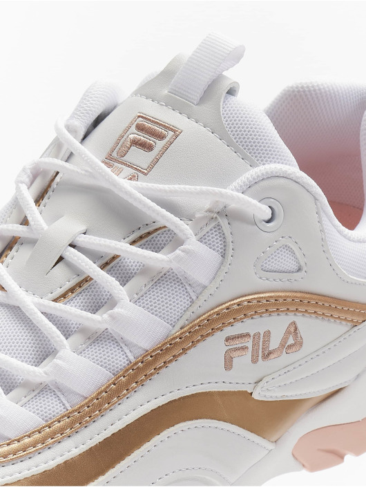 FILA Sneakers Heritage Ray F Low bialy