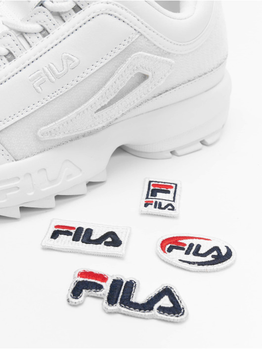 FILA Sneakers Heritage Disruptor II Patches bialy