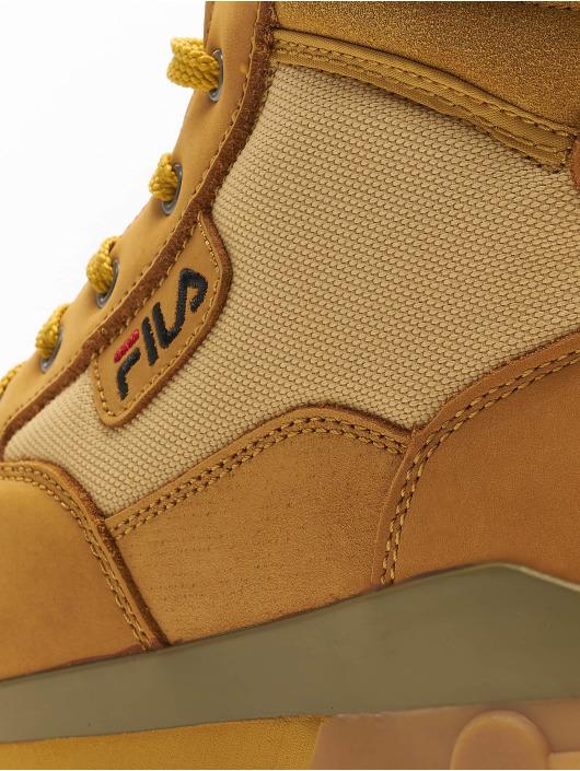 FILA Sneakers Heritage Grunge II Mid brazowy