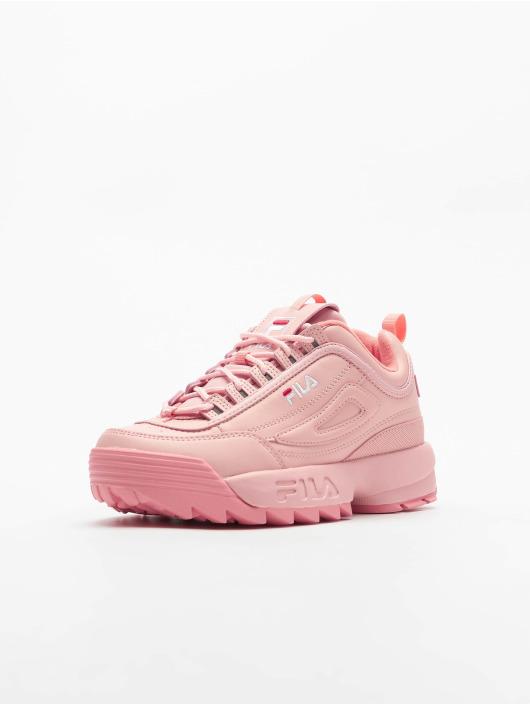 FILA Sneakers Bianco Disruptor Low ružová