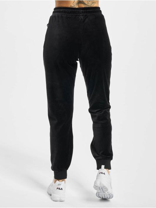 FILA Spodnie do joggingu Bianco Belluna czarny