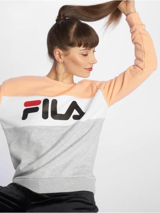 économiser 100% authentifié meilleure collection Fila Urban Line Leah Sweatshirt Light Grey/Salmon/Bright White