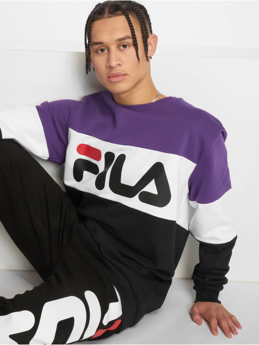 FILA Swetry Urban Line Straight Blocked czarny