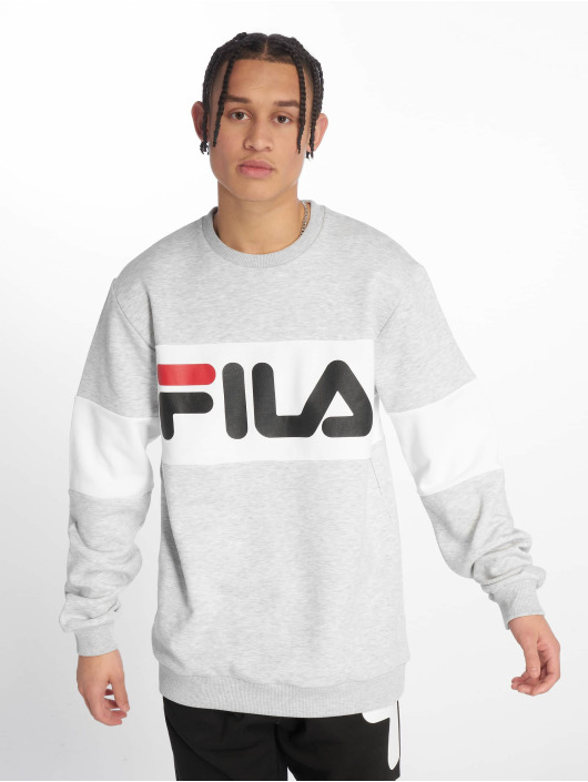 FILA Swetry Urban Line Straight Blocked szary
