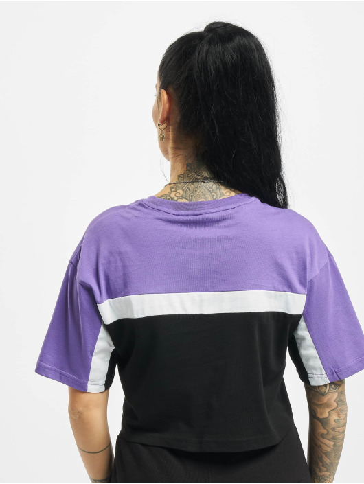 FILA T-Shirt Bianco Becky Cropped black