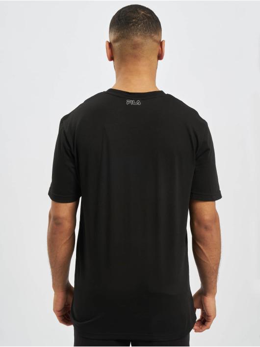 FILA T-Shirt Rosso Laurentin black