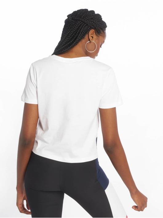 FILA T-Shirt Early Croped blanc