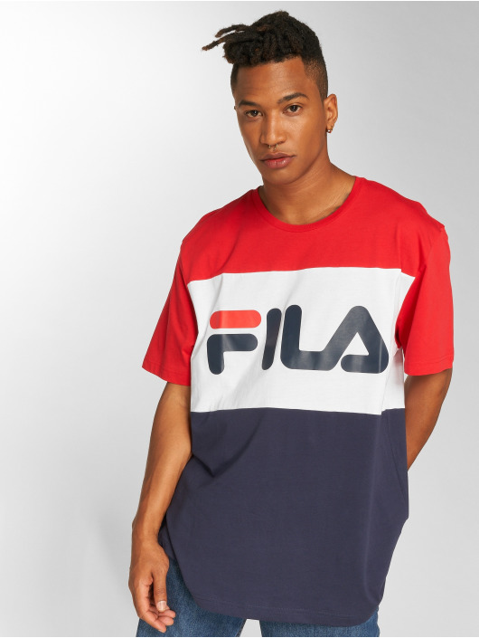 FILA Urban Line Day T-Shirt Black Iris/Bright White/True Red