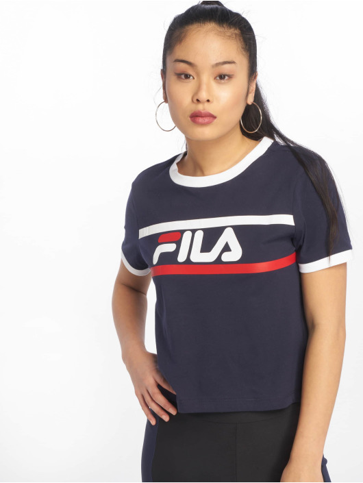Fila Urban Line Ashley Cropped T-Shirt Black Iris