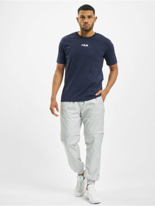 FILA T-Shirt Bianco Sayer blau