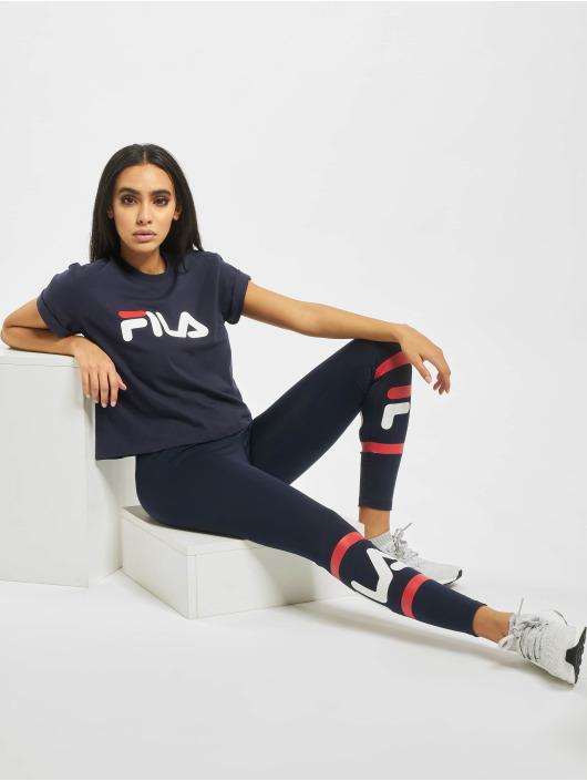 FILA T-Shirt Line Cropped Vivika bleu