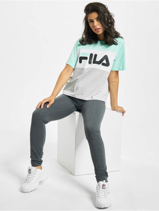 FILA T-Shirt Bianco Allison grau