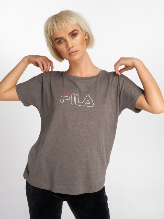 Line Gris Femme shirt T Fila Ludi Power 579377 XiPZuOk