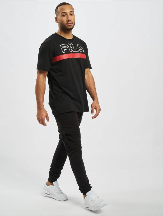 FILA T-Shirt Rosso Laurentin noir