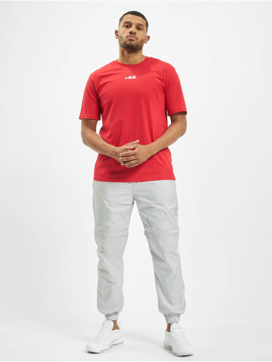 FILA T-Shirt Bianco Sayer red