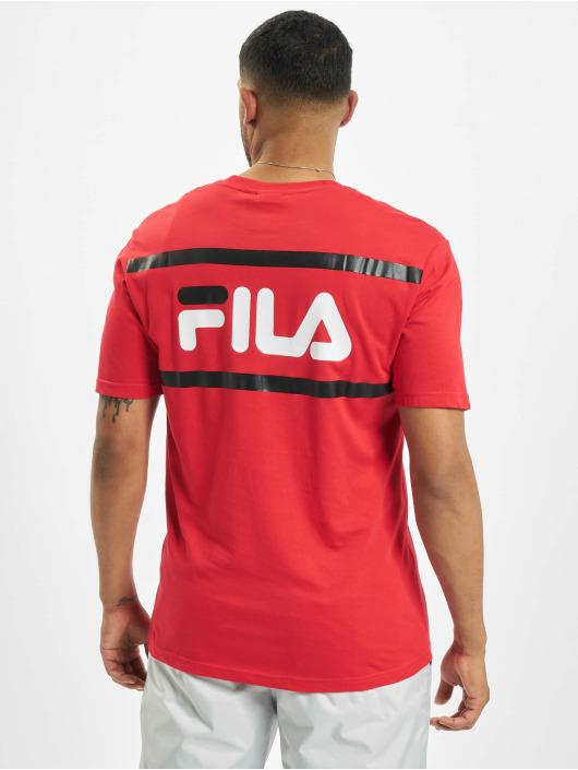 FILA T-Shirt Bianco Sayer rot