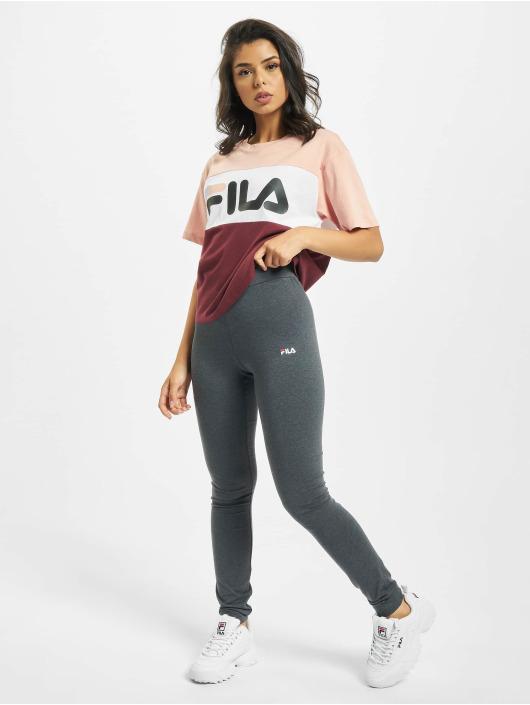 FILA T-Shirt Bianco Allison rouge