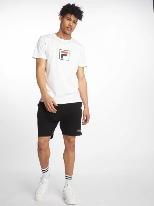 FILA T-Shirt Urban Line Print Evan weiß