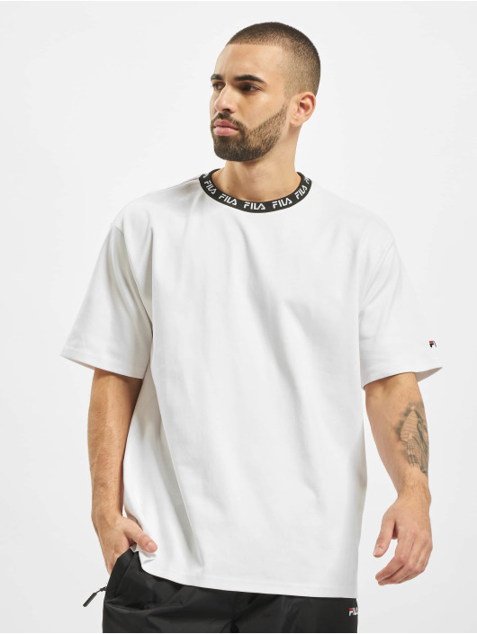 FILA T-Shirt Urban Line Tamotsu Dropped Shoulder weiß