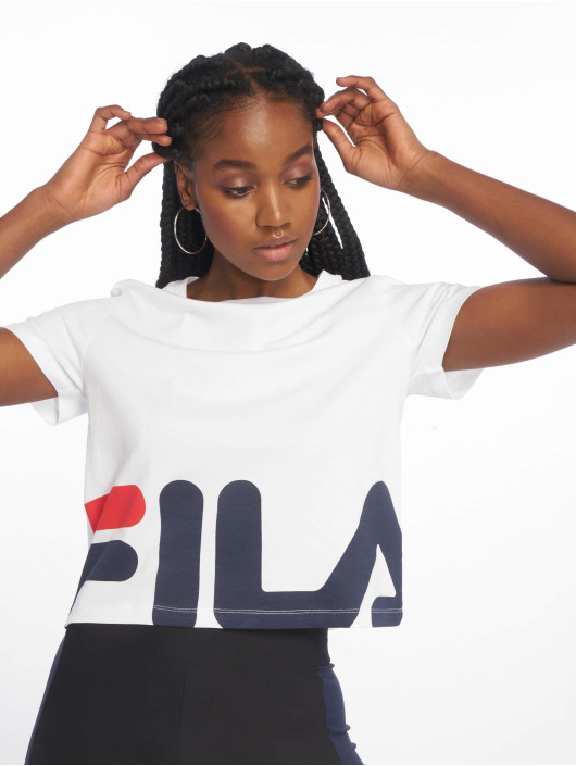FILA T-Shirt Early Croped white