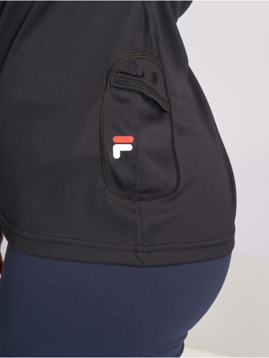 FILA t-shirt Power Line Pasha zwart