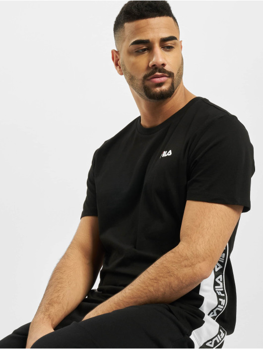 FILA t-shirt Tobal zwart