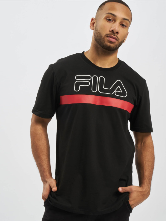 FILA t-shirt Rosso Laurentin zwart