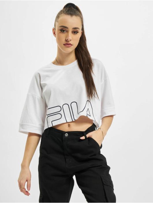 FILA T-shirts Rosso Lamia hvid
