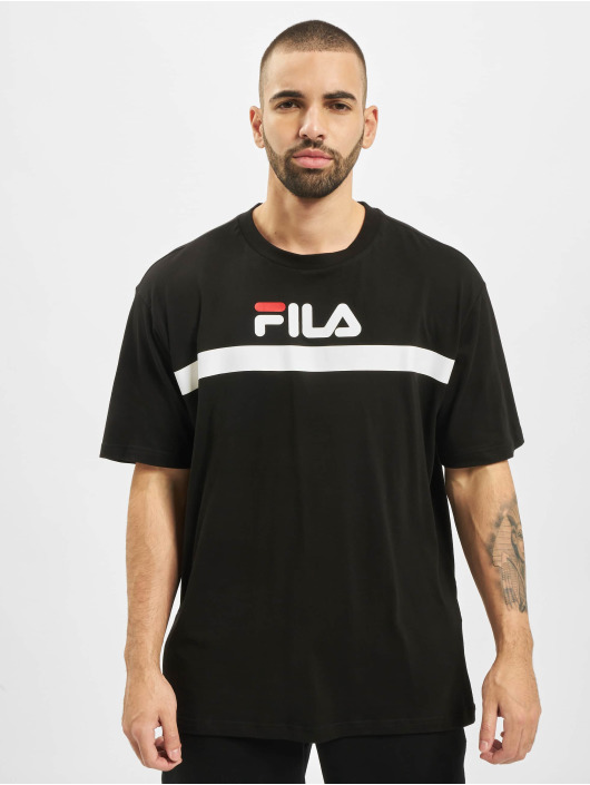 FILA T-shirts Line Anatoli Dropped Shoulder sort