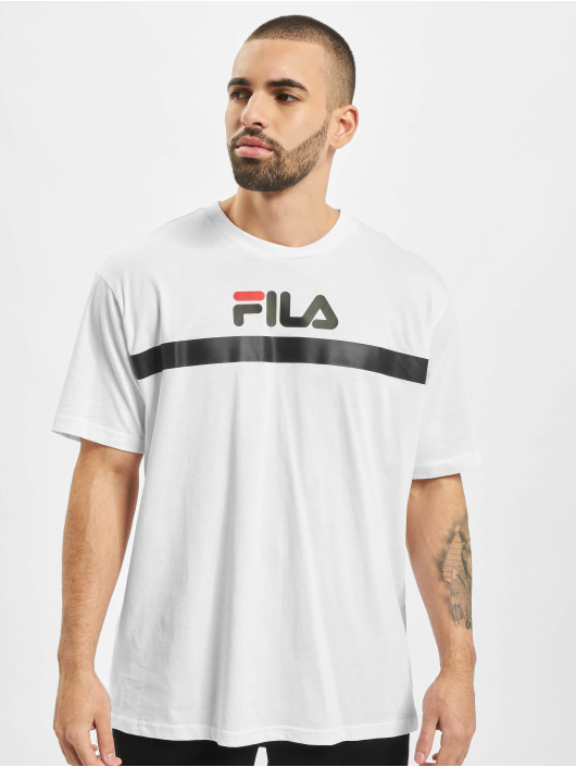 FILA T-Shirty Anatoli Dropped Shoulder bialy