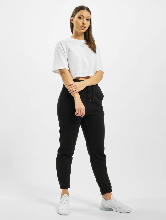 FILA T-Shirty Magola Oversized Cropped bialy