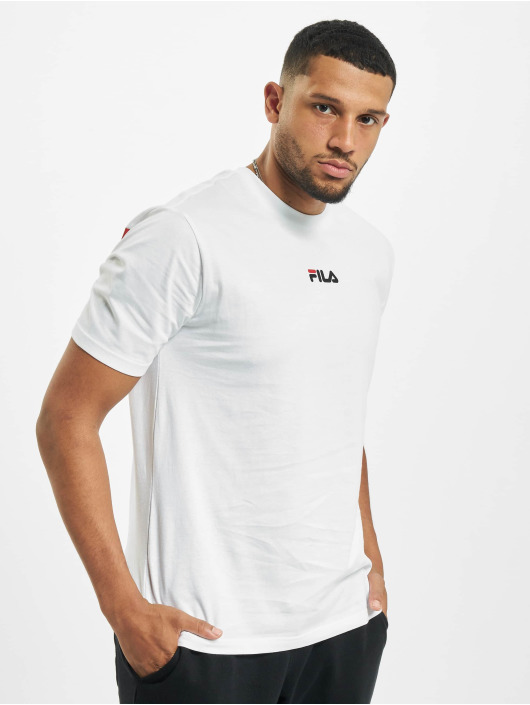 FILA T-Shirty Sayer bialy
