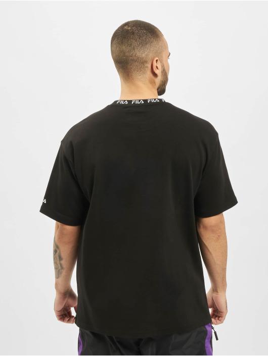 FILA T-Shirty Urban Line Tamotsu Dropped Shoulder czarny